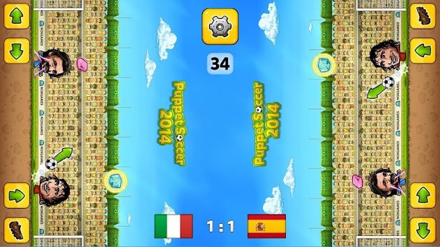 Puppet Soccer 2014 - Football APK screenshot thumbnail 8