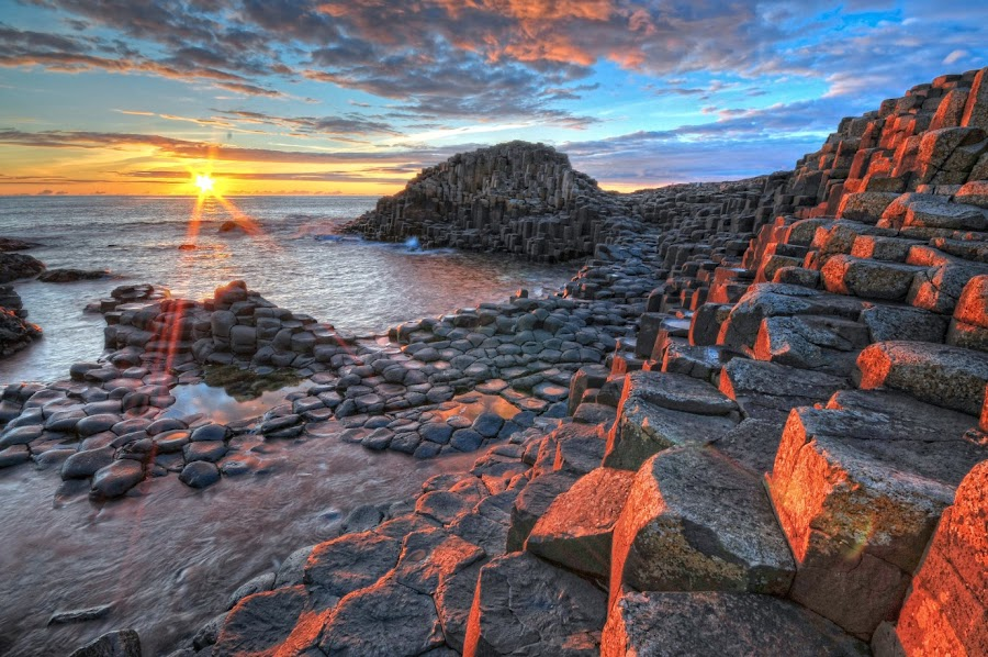 The giants causeway by Paul Holmes - Landscapes Waterscapes