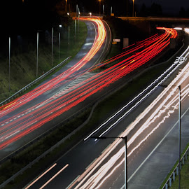 A3 lit up by Duncan Bryant - Abstract Light Painting ( canon, eos, 7d, light painting, light trails,  )