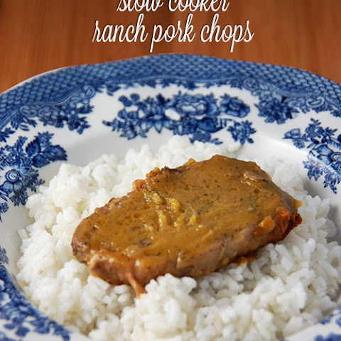 Slow Cooker Ranch Pork Chops