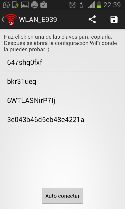 CR WIFI Screenshot 1