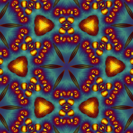 Mandala 5 by Cassy 67 - Illustration Abstract & Patterns ( kaleidoscope, abstract art, digital art, fractal, digital, fractals, mandala )