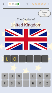 European Countries - Maps, Flags and Capitals Quiz