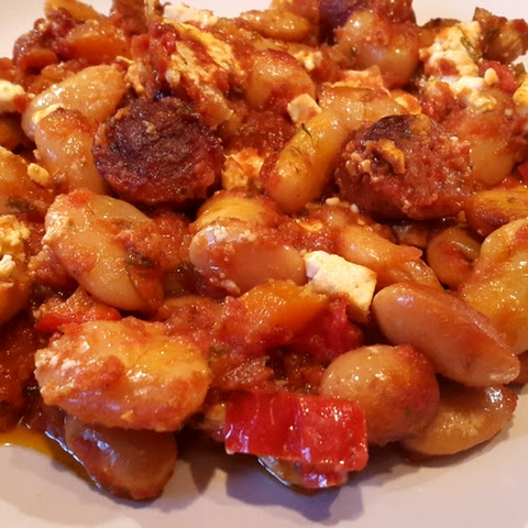 Butter Beans and Sausage Casserole