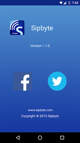 android Sipbyte Screenshot 5