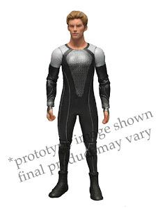 "Фигурка ""The Hunger Games: Catching Fire 7"" Series 1 - Finnick /3шт."