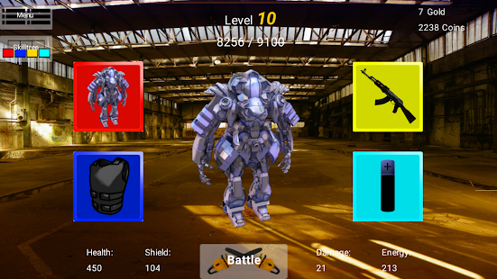 Battle of Cyborgs - screenshot