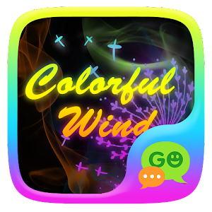 (FREE) GO SMS COLORFUL WIND THEME