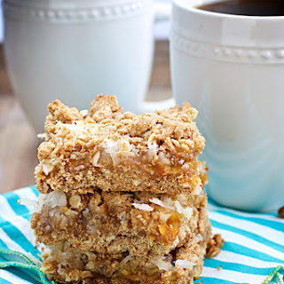 Whole Grain Orange-Coconut Bars