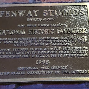 FENWAY STUDIOS BUILT 1905 THIS SITE POSSESSES NATIONAL SIGNIFICANCE IN COMMEMORATING THE HISTORY OF THE UNITED STATES OF AMERICA FENWAY STUDIOS IS ONE OF A FEW BUILDINGS IN THE UNITED STATES DESIGNED ...