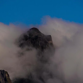 Peak A Boo Mountain, Madeira by Dave Williams - Landscapes Cloud Formations