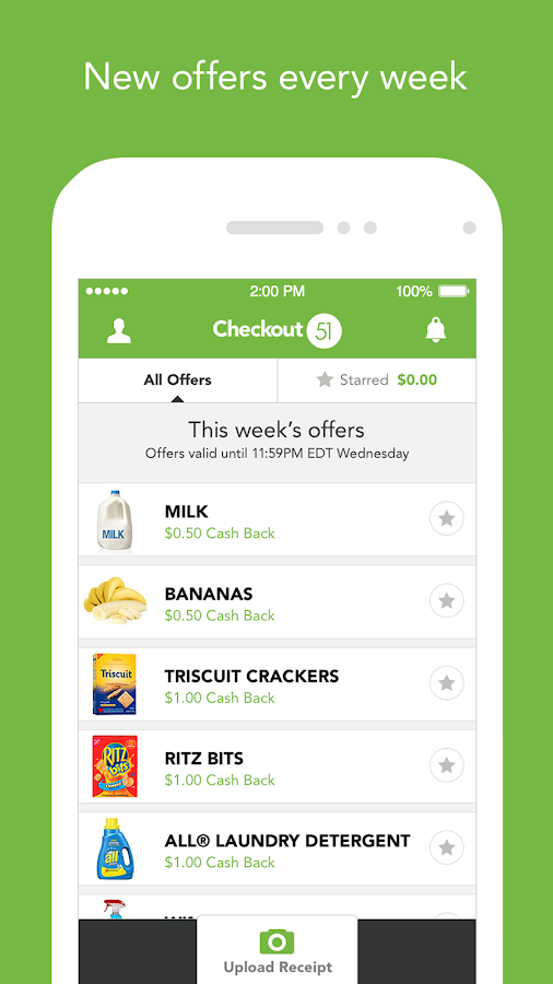 Checkout 51 - Grocery Coupons Screenshot 1