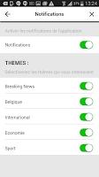 Screenshot of La Libre