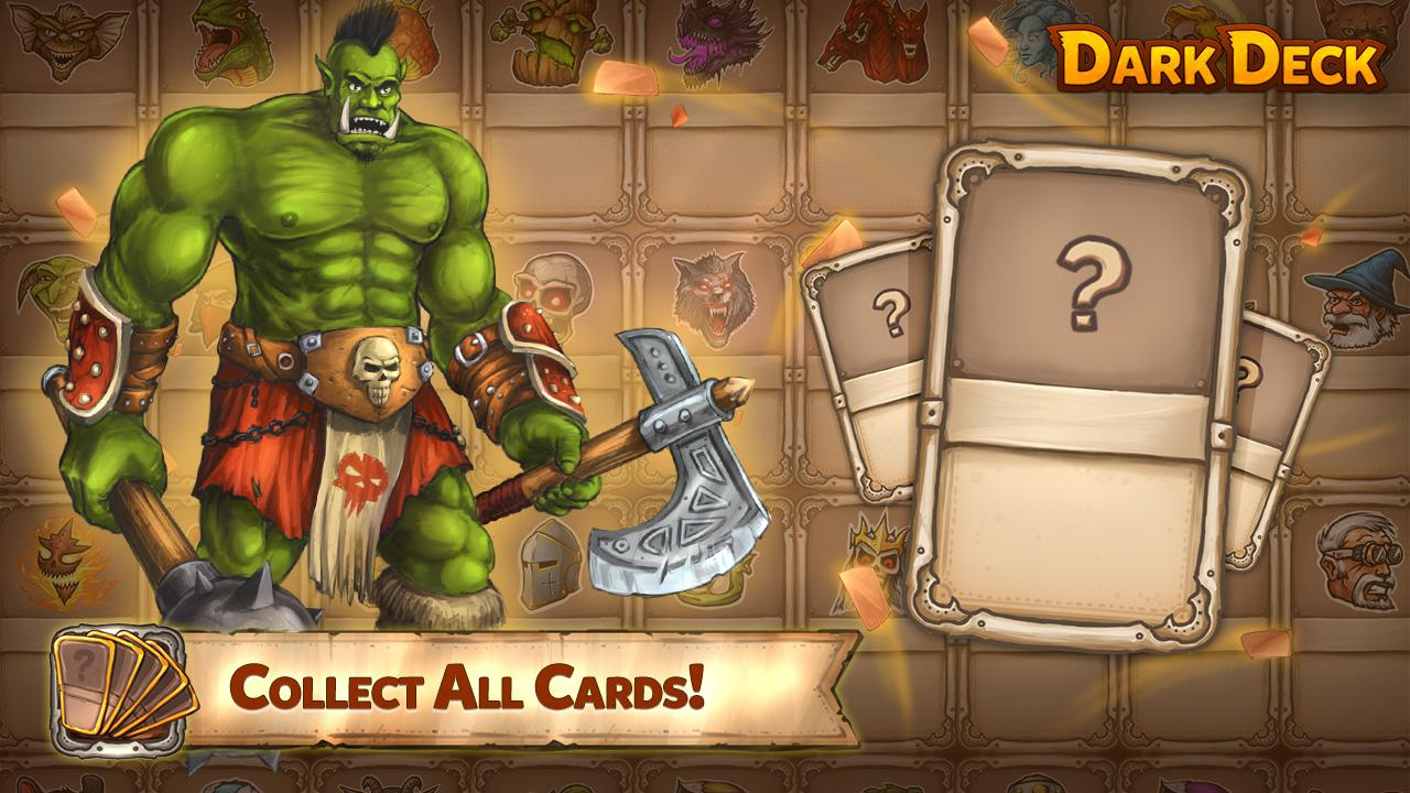 Dark Deck Dragon Card CCG Screenshot 1