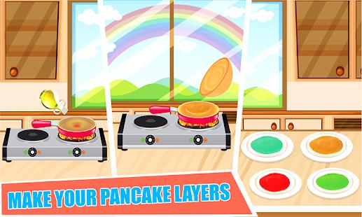 Game DIY Rainbow Pancake Maker APK for Windows Phone