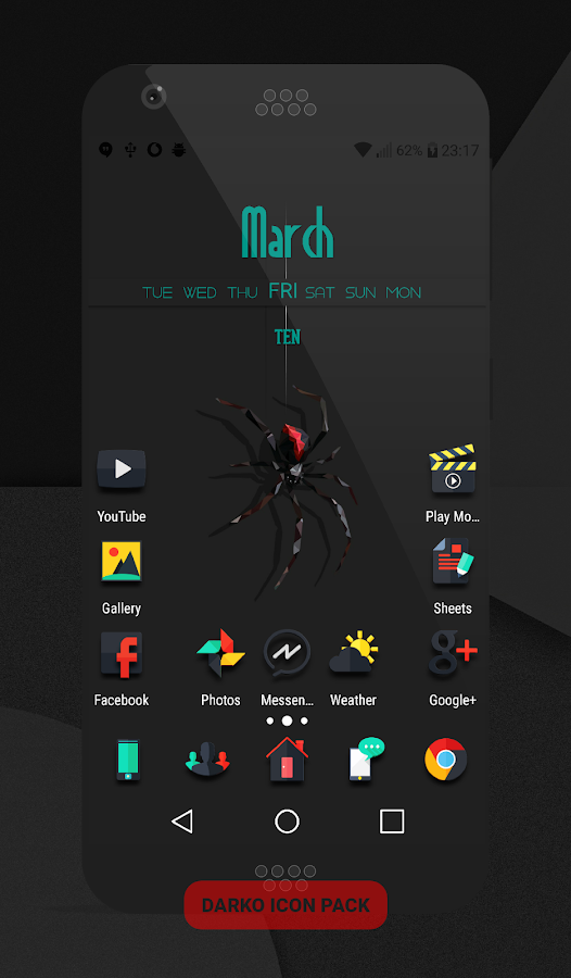 Darko - Icon Pack Screenshot 5