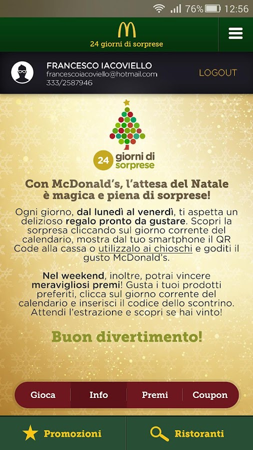 McDonald's Italia Screenshot 3
