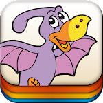 Dinosaur Memo Games for Kids Icon