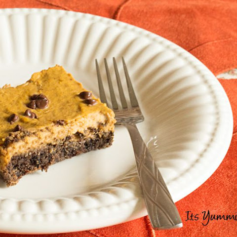 Low Carb Pumpkin Pie Bars