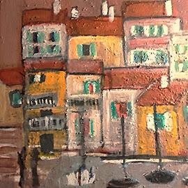 Warm morning by Vanja Škrobica - Painting All Painting
