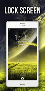 Theme XPERIEN™-Green Planet - screenshot