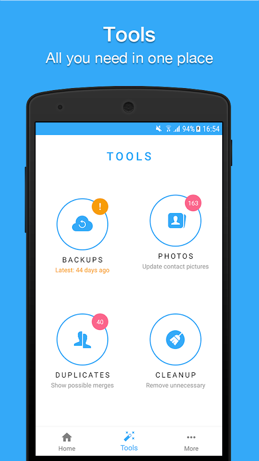 Contacts, Dialer, Phone & Call Block by Simpler Screenshot 1