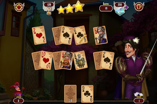 Musketeer Solitaire - screenshot