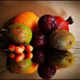 Still life by Prasanta Das - Food & Drink Fruits & Vegetables ( still life, fruits, assorted )