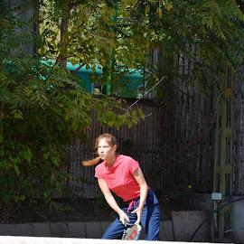 To play tennis by Svetlana Saenkova - Sports & Fitness Tennis ( sport,  )
