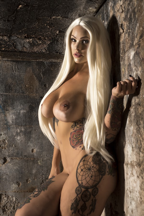 Ruins by Kens Yeaglin - Nudes & Boudoir Artistic Nude ( nude, stunningsavage, sasco mine, blond, ruins )