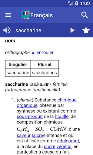 French Dictionary - Offline screenshot 1