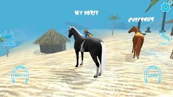 Screenshot of Hill Cliff Horse - Ragdoll