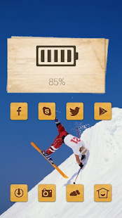 Ski stunt man - screenshot