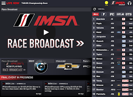 Screenshot of IMSA