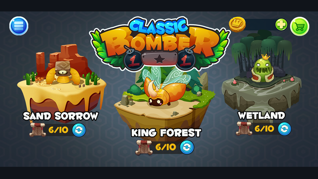Bomber Heroes - Bomba game Screenshot 2