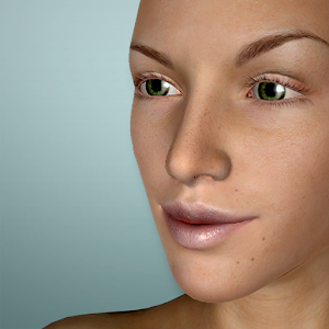 Face Model - 3D virtual human head pose tool For PC
