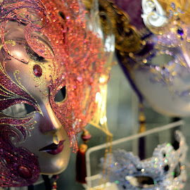 The Shop Window by Bruno Brunetti - Artistic Objects Clothing & Accessories ( carnival, masks, venice, italy )