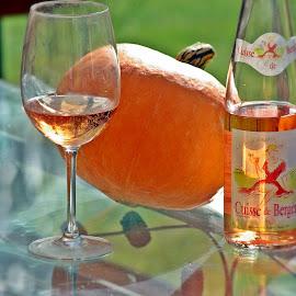 Déclinaison du rosé by Ciprian Apetrei - Food & Drink Alcohol & Drinks ( wine, autumn, rosé, still life, glass, brittany, bokeh )