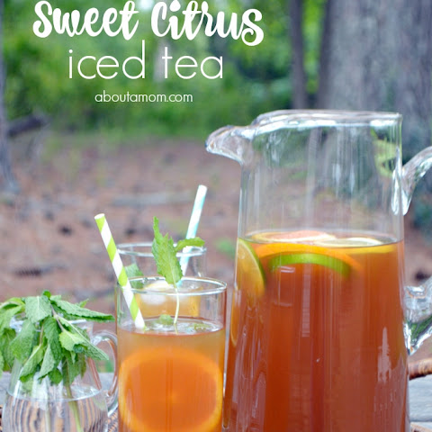 Sweet Citrus Mint Iced Tea