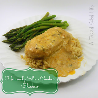 Heavenly Slow Cooker Chicken