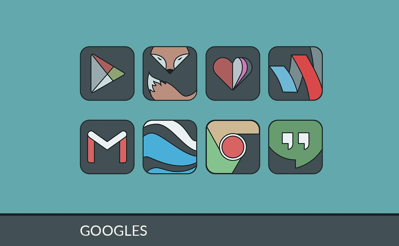 IMMATERIALIS ICON PACK Screenshot 0