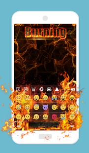 App Burning Animated Keyboard 1.47 APK for iPhone