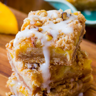 Peaches 'n Cream Bars