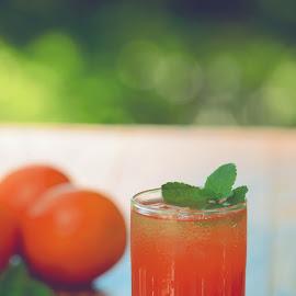 Orange Iced Tea by Caroline Flaherty - Food & Drink Alcohol & Drinks (  )