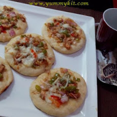 Mini Pizza for Kids