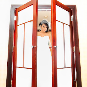 Shines by Henry Kurniawan - Wedding Bride ( flash, wedding, brides, philadelphia, bride, strobe )