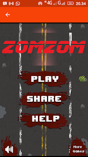 ZomZom - screenshot