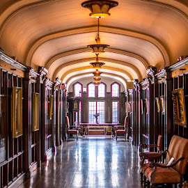 Hall by Darren Sutherland - Buildings & Architecture Public & Historical ( toronto, casa loma, historic site, gothic castle, mansion )