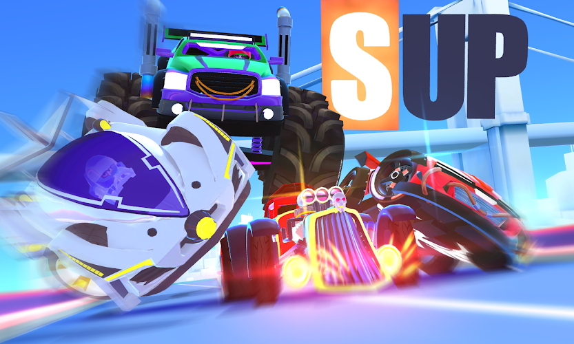 SUP Multiplayer Racing Android App Screenshot