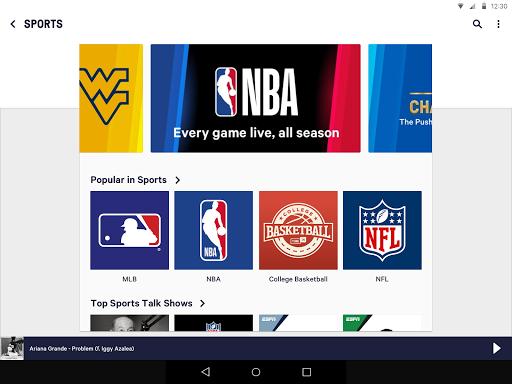 TuneIn: Stream NFL Radio, Music, Sports & Podcasts screenshot 11